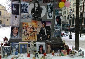 Michael Jackson Schrein